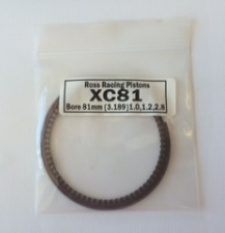 EXT-XC81 Ross Racing Piston Ring Set XC81